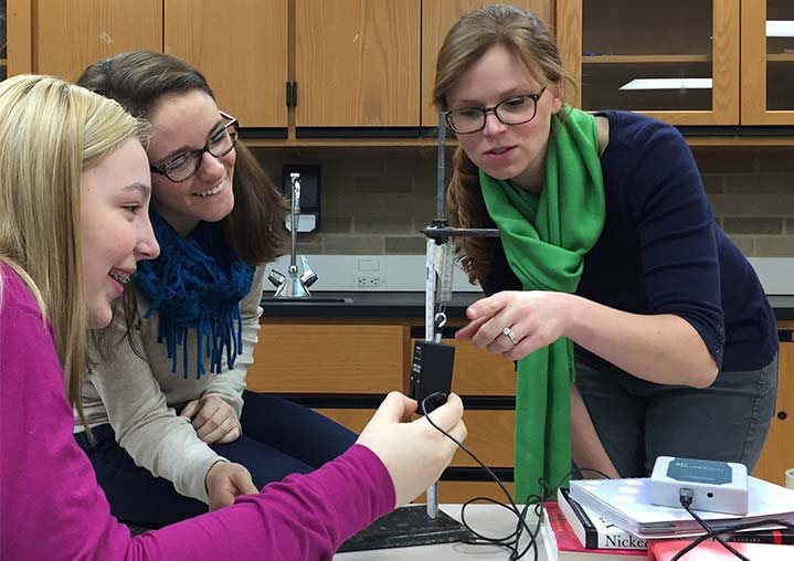 Area Science Teachers Take National Stage