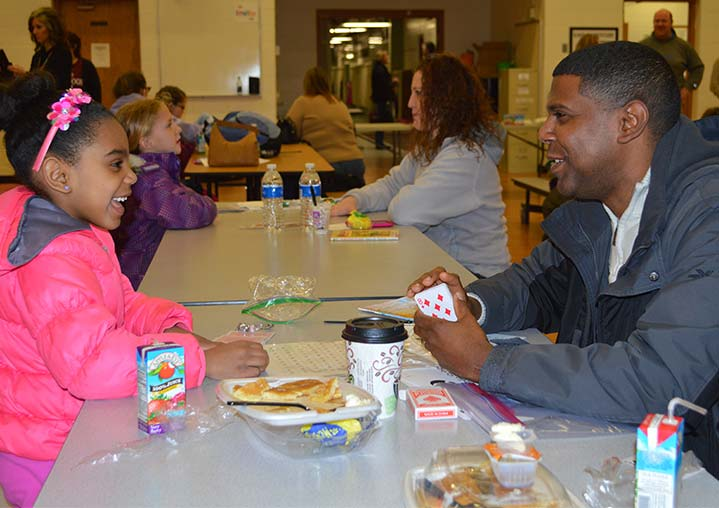 Parents, Teachers, Students Connect Over Breakfast & Books