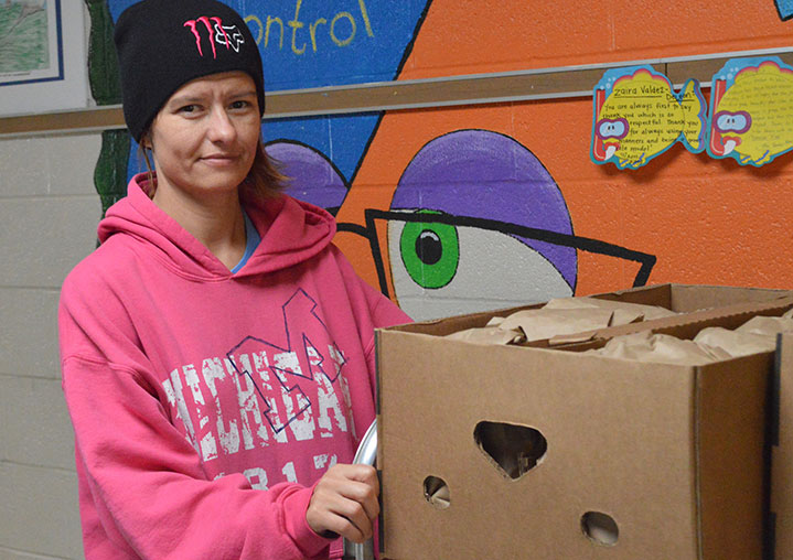 Sack Suppers, Popcorn, Fundraisers: She Does it All