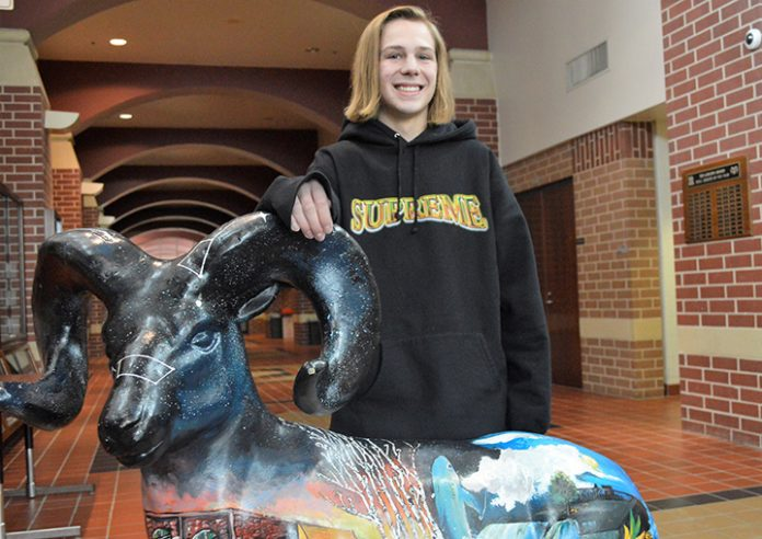 Hunter Denman plans to attend Grand Valley State University or Michigan State University
