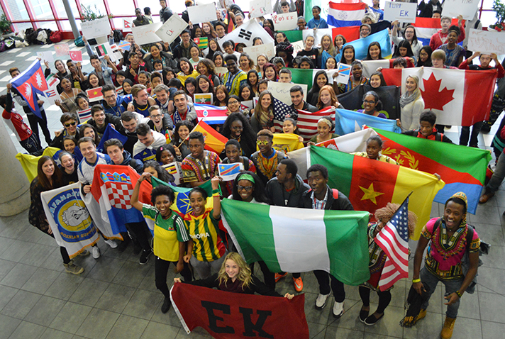 """East Kentwood students say """"We are EK!"""""""