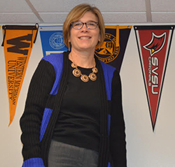 Thornapple Kellogg High School counselor Nancy Iveson says students should start applying for college financial aid now