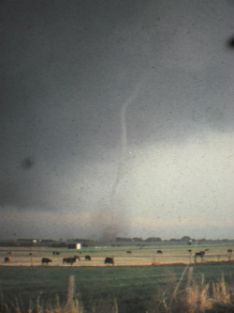 Dave Carmichael was in the car shooting photos of this 1978 tornado in Oklahoma