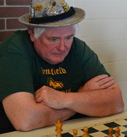 Certified National Chess Instructor Stan Beckwith, 77, of Battle Creek, who saw Bobby Fischer in his famous match against Boris Spassky in 1972, took on a few students