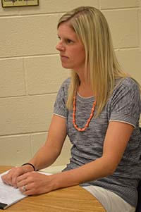Hillary DeRidder, East Elementary School counselor, reflects on the need for school counselors