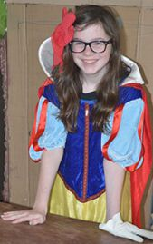 East Grand Rapids seventh-grader Gwen Steele becomes Snow White for Odyssey of the Mind