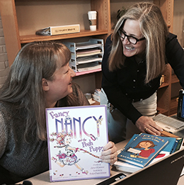 Trish Reid and Carole McDonald have used their expertise to transform how EGR school libraries serve students