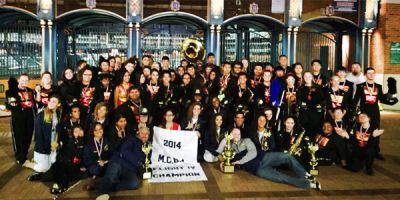 MCBA's State Champion: Godwin Heights Marching Band
