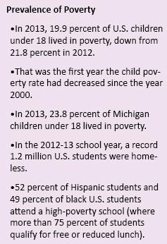 Source: First Focus, Michigan League for Public Policy,  U.S. Census Bureau