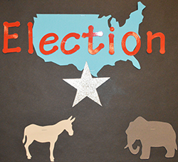 Comstock Park High School's AP Government class covers the election process
