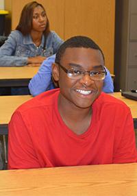 Junior Jamara Lubin attends class at 54th Street Academy