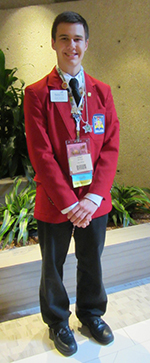 Skills USA State of Michigan Senior Officer: Forest Hills Northern High School student Jake Beyer has served on the board for two years while at the Tech Center and continues to teach and train the 2014-15 State Officers