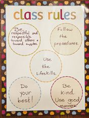 It's hard to argue with the rules of Gerdes' classroom