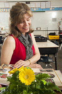 Gerdes injects joy and value into her lessons