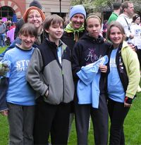 Area students and families came together for the Stomp Out Stigma walk
