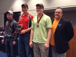 Alex Richards placed second at the National Field Archery Association national tournament in Louisville, Ky
