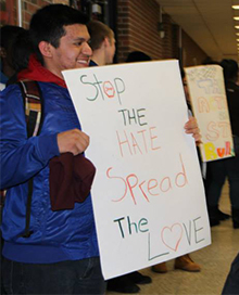 Angel Barreto-Cruz shares his anti-bullying message