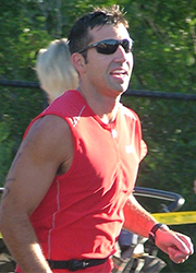 Byron Center High School Principal Scott Joseph is a skilled triathlete and Adventure Race competitor