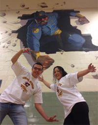 Seniors Danny Arreola and Celestina Buentello are thinking of attending Central Michigan University and took a G.O.T. trip there with other students