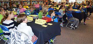 Students learn about Croatian history and customs