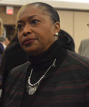 GRPS Superintendent Patricia Weatherall Neal spoke of the urgency -- and hope -- of Michigan's third-grade reading law