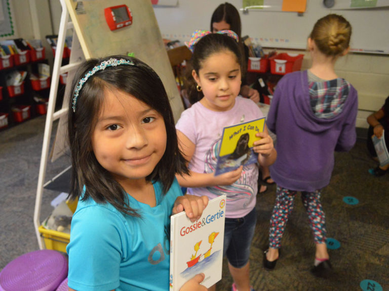 Consistent literacy instruction means improved reading