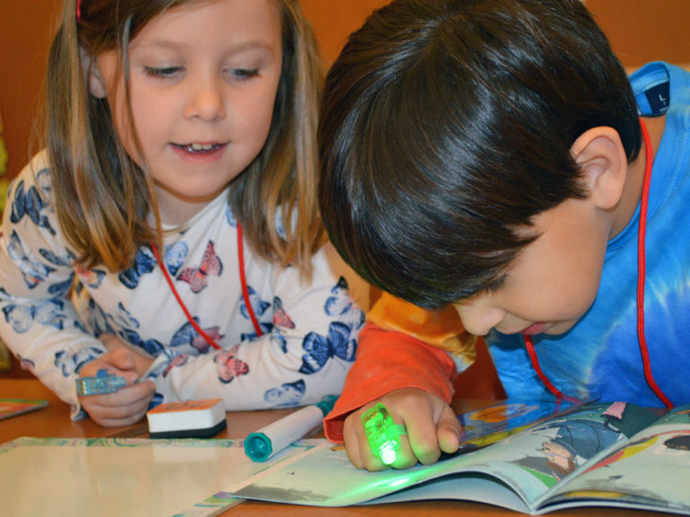 Reading is elementary for these word detectives