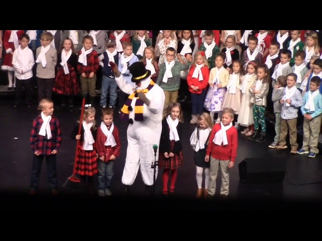 Frosty the Snowman, in concert