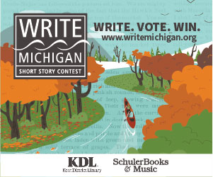 Write Michigan Short Story Contest, sponsored by KDL and Shuler Books
