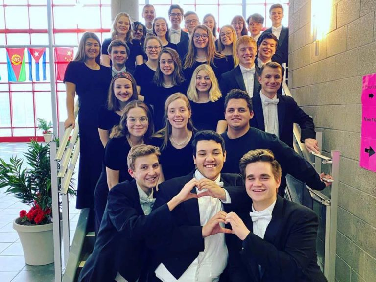 Celebrating senior singers with a final concert, virtually