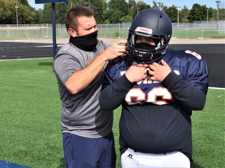 Teacher and coach applies lessons in classroom and on field