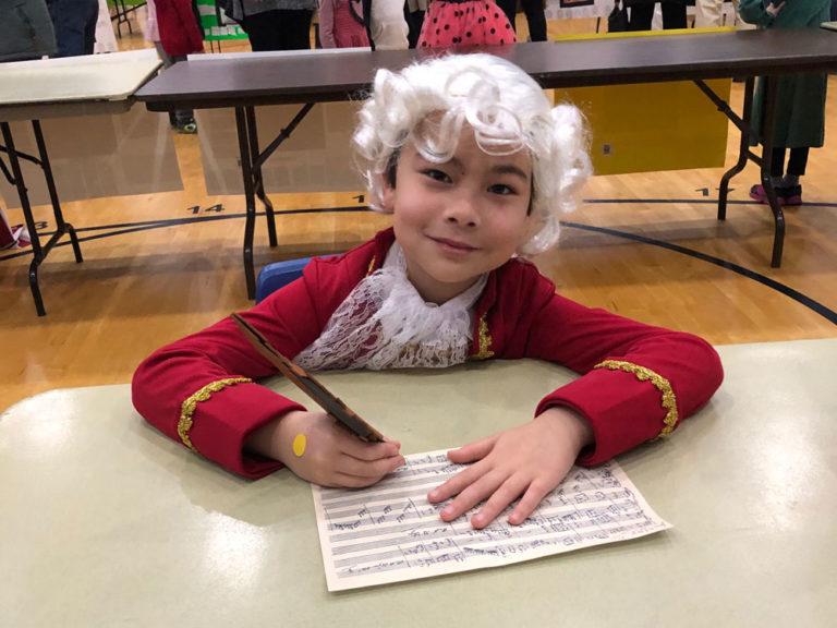 Musical prodigy, international performer, fourth-grader