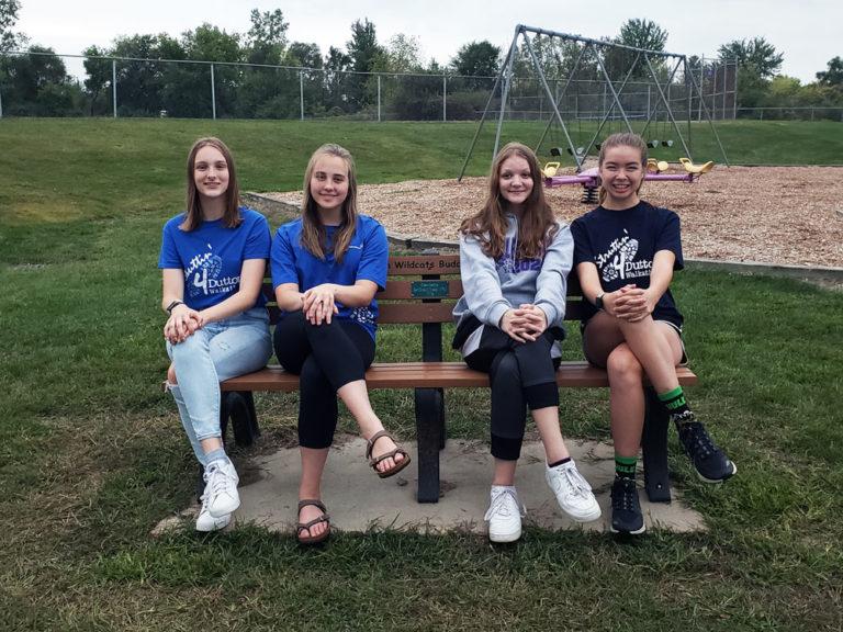 Senior Scouts return to grade school, sprinkling kindness