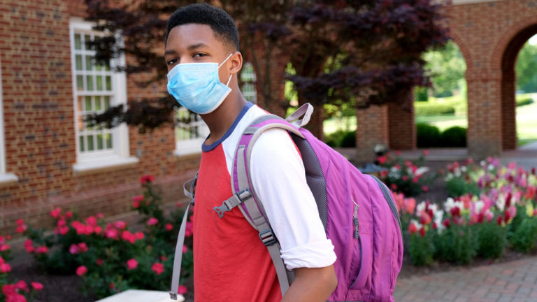 Stress, studies and the pandemic: a steep learning curve