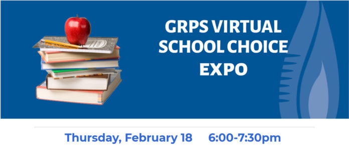 The 2021 school choice expo for GRPS will be a virtual event on Feb. 18