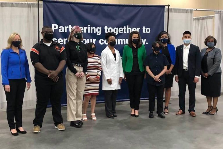 Student vaccine ambassadors spread the message: 'do your part'